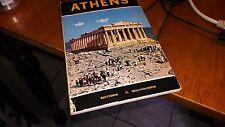 ATHENS GREECE TRAVEL PAPERBACK BOOK C. GOUVOUSSIS