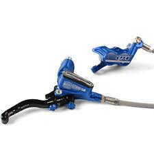 Hope Tech 3 E4 Blue Right / Rear Braided Hose Brake - Brand New