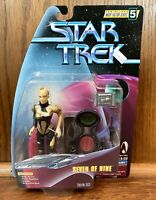 Seven Of Nine Vintage Star Trek Warp Factor Series 5 Action Figure New Playmates