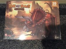 Age of Dinos Triceratops 3D Puzzle Cubic Fun 36 Pieces SEALED BOX