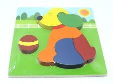 giochi puzzle in legno per bambini cane