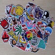50pcs /lot Car Sticker Bomb Decal Vinyl Roll Skate Skateboard Laptop Luggage KF