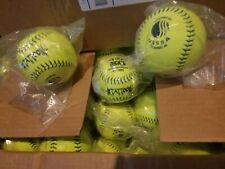 4 Dozen=48 New 12� Inch Mens Slow Pitch Softballs Tattoo Usssa Classic M Ut12Mps