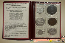 Australia's First Year of Issue for Pre-Decimal Coinage