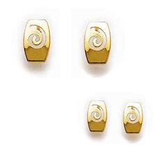 Paire de Boucles d'oreilles Femme PLAQUE OR 18 carats Neuves - Big Bang Bijoux