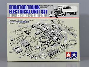 New Vintage Tamiya 1/14 Semi Tractor Truck Electrical Light Beeper Unit Set56501