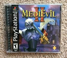 MediEvil II Sony PlayStation 1 2000 PS1 Complete Rare Mint Disk No Scratches