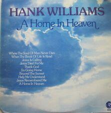 HANK WILLIAMS - A HOME IN HEAVEN  -  LP