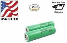 2 18650 Samsung 25R 2500mAh 35A Rechargeable Battery for Ebike Flashlight