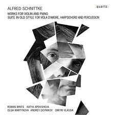 Alfred Schnittke : Alfred Schnittke: Works for Violin and Piano CD (2016)