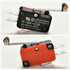 5X V-156-1C25 Micro Limit Switch Long Hinge Roller Momentary SPDT Snap Action DH