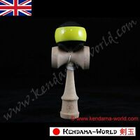 """Dragon Kendama """"Bee"""" Edition full size natural beech wood traditional skill toy"""
