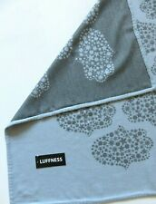Luffness knee rug blanket throw cover blue grey soft wool NEW elderly wheelchair