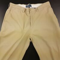 Polo Ralph Lauren SUFFIELD Mens Summer Trousers Chino Pant W34 L33 Beige Regular