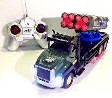 Ejército Militar De Radio Control Remoto De LED R/C Camión 1:18 completo cargado Ready 2 lucha