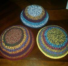 Kippah Kippot Kipa Jewish Judaica Knitted kippah kippa Yarmulkes Yamaka 19cm