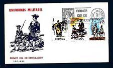 SPAIN - SPAGNA - 1974 - Uniformi militari (2)