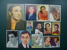 chromos plaatjes images chanteurs : Charles Aznavour trading cards cartes Monty
