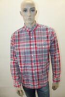Camicia TOMMY HILFIGER Uomo Shirt Chemise Man Taglia Size L