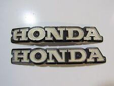 Tankembleme Emblem Tank badge # 413 Honda 160x25mm alt evtl. Honda CB400