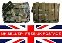 Large Molle Utility pouch MTP Multicam ATP Airsoft Military Cadets Webbing