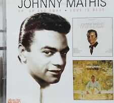 Johnny Mathis Double CD  Up Up And Away & Love Is Blue ~ Sealed