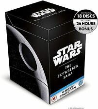 Star Wars: The Skywalker Saga Complete Box Set  Blu-Ray Movies [Region Free] NEW