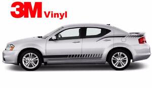 Strobe stripe Fits: 2008 - 2015 Decals Graphics for Dodge Avenger 3M