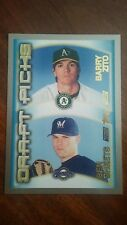 2000 Topps #451 Barry Zito/Ben Sheets Rookie Card