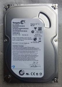 "Seagate Pipeline HD.2 /  3.5"" ST3500312CS 500GB SATA 5900Rpm...USED"