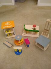 Plan City Series Toys Wooden Airport Wooden Play Set – Various pieces