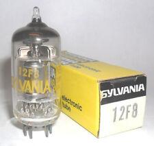 NEW IN BOX SYLVANIA 12F8 AUTO / CAR RADIO TUBE / VALVE