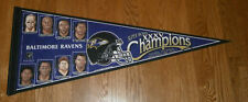 2000 Baltimore Ravens Super Bowl XXXV Champs photo pennant Ray Lewis Trent Dilfe