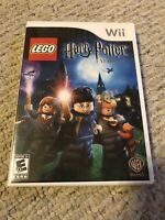 LEGO Harry Potter: Years 1-4 (Nintendo Wii, 2010) Tested