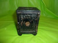 SECURITY SAFE DEPOSIT CAST IRON BANK!! MARKED MARCH 1887 PAT PENDING 100