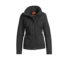 Parajumpers Desert Jacket Windbreaker Jacket Black Womens Size Small