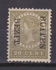 Nederlands Indie Netherlands Indies 92f MLH BUITEN BEZIT kopstaand 1908