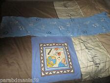 Tintin-taie pour traversin(1 mètre 68cm)-Le Lotus bleu+ taie cigares du pharaon