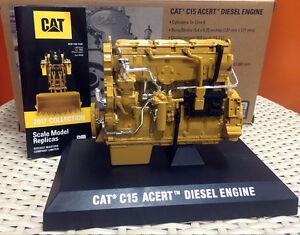 1/12 Caterpillar Cat C15 ACERT Diesel Engine By DieCast Masters DM85139