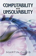 Dover Books on Computer Science: Computability and Unsolvability by Martin...