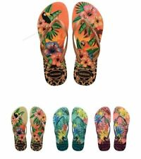 Havaianas Women Flip Flops Slim Tropical Sexy Sandals Vary Colors All Size
