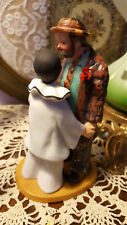 """Flambro Limited Edition The Original Emmett Kelly Circus Collection 6.5"""" High"""