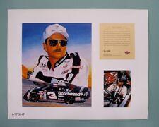 Dale Earnhardt Sr. 1996 Nascar 11x14 Lithograph Print (scare)
