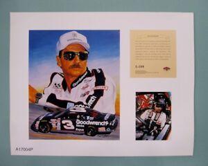 Dale Earnhardt Sr. 1996 Nascar 11x14 Kelly Russell Studios Lithograph Print