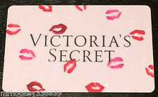 Victoria's Secret Canada LIPS / KISSES Collectible Gift Card French/Eng
