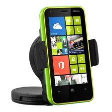 Supporto stand auto parabrezza per Nokia Lumia 620 + Disco adesivo cruscotto