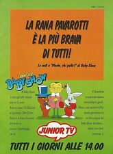 X2654 Junior Tv - Baby Show - Pubblicità 1993 - Advertising