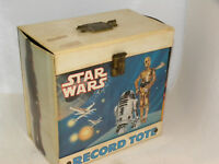 "Vintage 1982 Star Wars Empire Strikes Back Vinyl 7"" 45 RPM Record Tote"