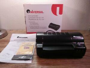 Universal 4 Inch Laminator UNV-84528