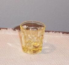 HEISEY #1404 OLD SANDWICH SAHARA 1 1/2 OZ. BAR/SHOT GLASS MARKED H